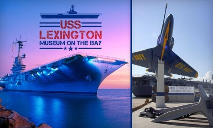 USS Lexington On-ship Camp @ Corpus Christi TX